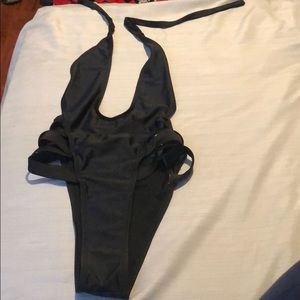 Other - Once piece black swimsuit